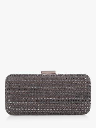 Carvela Shine Studded Clutch Bag, Metallic