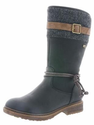 Rieker Women Boots 94778 Ladies Winter Boots Long Shaft Boots Lined Warm Waterproof