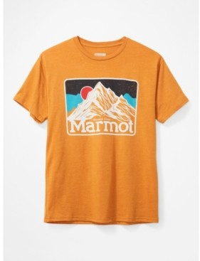 Marmot Mens Mountain Peaks Tee Short Sleeve