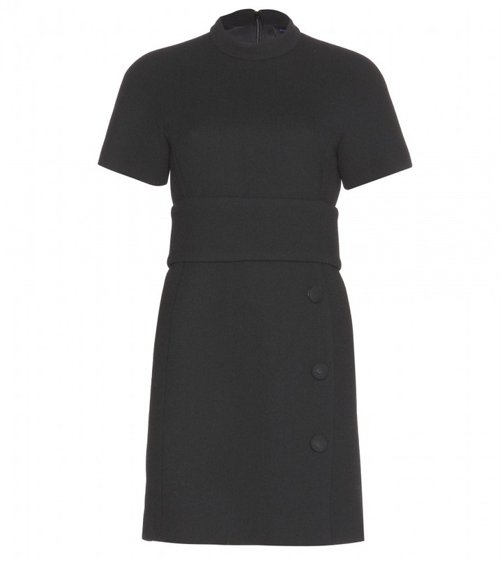Proenza Schouler Wool-crepe mini dress