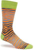 Daniel Cremieux Zebra Space-Dyed Crew Socks