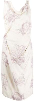 Vivienne Westwood Pre Owned Printed Midi Dress