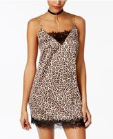 Material Girl Juniors' Lace-Trim Slip Dress, Only at Macy's