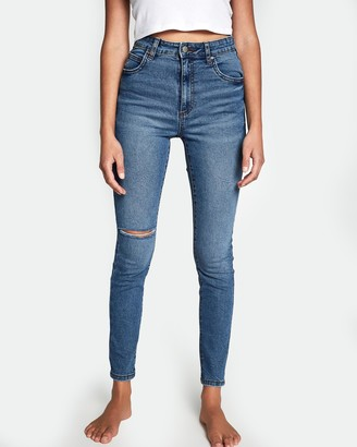 Cotton On High-Rise Skinny Jeans