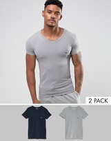Emporio Armani 2 Pack V Neck T-shirt