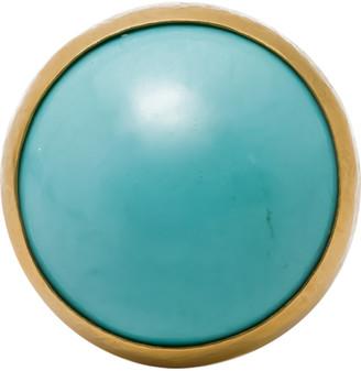 Gurhan Rune Turquoise Ring