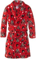 Disney Minnie Mouse Girl's 2-6X Bathrobe
