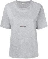 Saint Laurent mid logo T-shirt