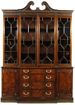 One Kings Lane Vintage Chippendale-Style Breakfront