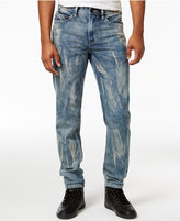 Sean John Men's Slim- Straight Fit Extend Jeans, Only at Macy's