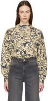 Etoile Isabel Marant Beige Xodilon Printed Sweater