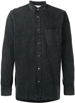 Our Legacy buttoned denim shirt - men - Cotton/Linen/Flax - 50