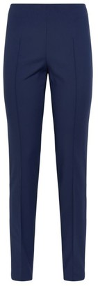 Akris Melissa Cotton-Stretch Skinny Trousers