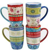 Certified International Anabelle 4-pc. Mug Set