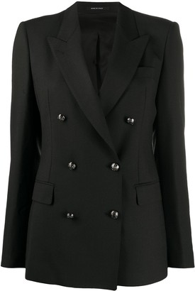 Tagliatore Fitted Double-Breasted Jacket