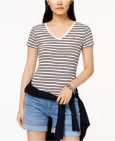 Tommy Hilfiger Cotton Striped V-Neck T-Shirt, Created for Macy's