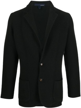 Lardini Knitted Tailored Blazer