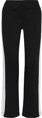 DKNY Striped Stretch-jersey Track Pants