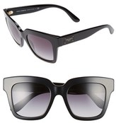 Dolce & Gabbana Women's 51Mm Square Sunglasses - Black