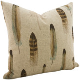 The Watson Shop Linen Feather Throw Pillow