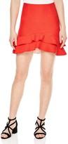 Sandro Toby Tiered Mini Skirt