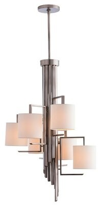 Arteriors 6-Light Shaded Classic / Traditional Chandelier
