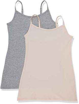 Iris & Lilly BELK409M2 Vest,(Size:2XL), Pack of 2