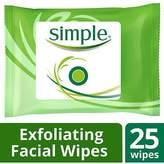 Simple Facial Wipes, Exfoliating