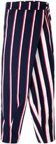 Henrik Vibskov Yuri Hairy stripe trousers