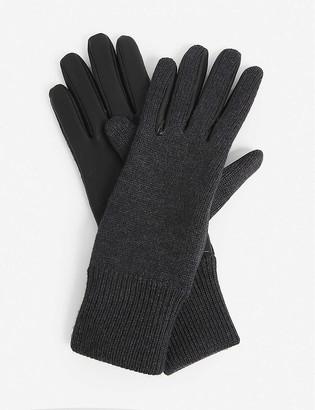 Burberry Annie merino wool gloves