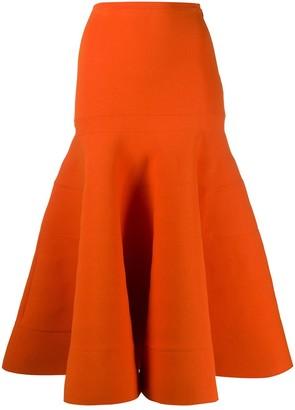 Nina Ricci Flared Midi Skirt