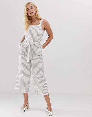 Only stripe jumpsuit