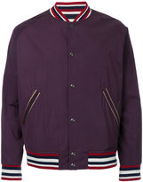 Kent & Curwen zipped bomber jacket