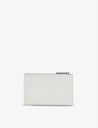 The White Company Matinee leather purse