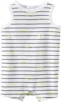 Joe Fresh Baby Newborn Sleeveless Bodysuit, White (Size 0-3)