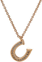 Rebecca Minkoff WOMEN'S HORSESHOE-CHARM NECKLACE