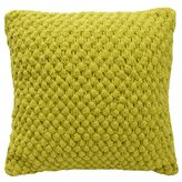 Blink Pranna Bobble Knit Square Throw Pillow