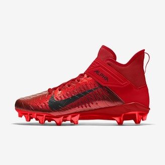 Nike Custom Men's Football Cleat Alpha Menace Pro 2 Mid By You