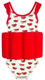 Miss Glitter Toddler Watermelon Float Suit