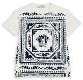 Versace Little Boy's Medusa Graphic Tee