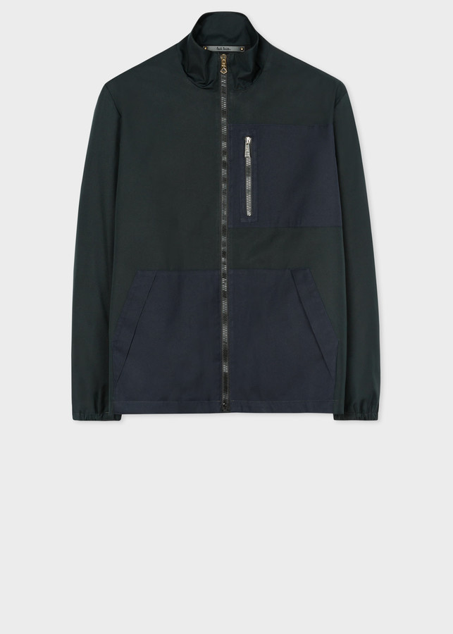 Paul Smith Men's Dark Green Recycled-Polyester Jacket