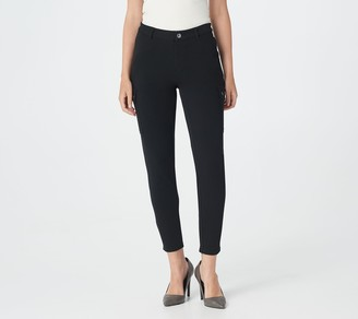 Lisa Rinna Collection Skinny Cargo Ankle Pants