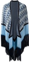 Antonia Zander fringed cape
