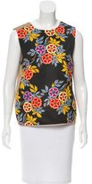 MSGM Sleeveless Printed Top