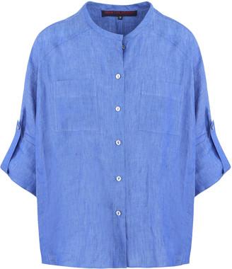 Martin Grant Linen Batwing Shirt