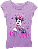 Freeze Sparkle Minnie Mouse Tee - Girls