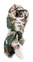 Gucci Women's Beige Tian Wool Silk Shawl.