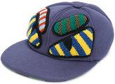 Fendi Monster patch baseball cap