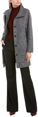 Theory Dolman Dalden B Wool Coat