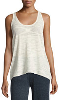 Minnie Rose La Playa Racerback Tank, White